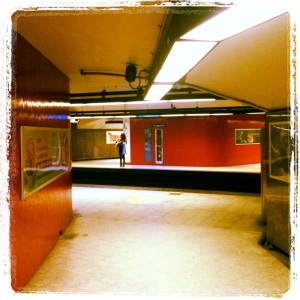 Laurier. Orange Line. Opened 1966.