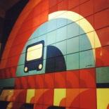 Jean Talon. Opened: 1966, Orange Line; 1986, Blue Line