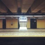 Longueuil-Université de Sherbrooke. Yellow Line. Opened 1967.