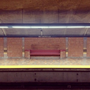 Blue Line. Opened 1986.