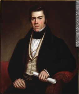 John Redpath, 1796-1869 by Antoine Plamondon (1836). McCord Museum, Montreal.