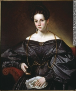 Jane Drummond, 1815-1907, by Antoine Plamondon (1836). McCord Museum, Montreal.